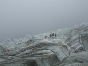 dry glacier