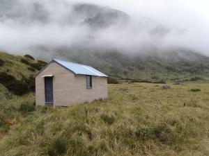 Top Waitaha hut