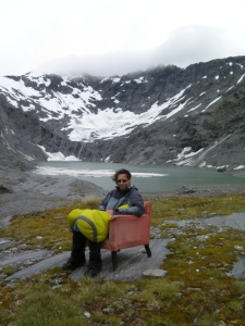 chilling in the legendary Ivory lake armchair