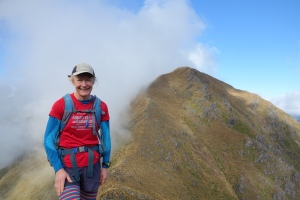 Tararua tops during an attempt to do a north to south traverse in under 48 hours, known as the SK