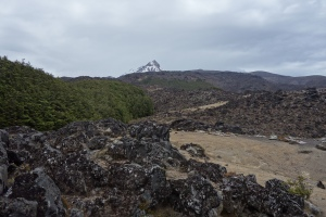 Girdlestone and lava fields