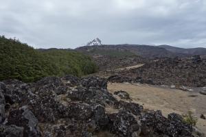 Girdlestone and lava fields