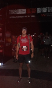 Grant at the start line