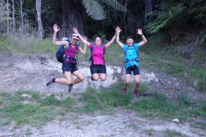 Celebrating completing the Inland Abel Tasman